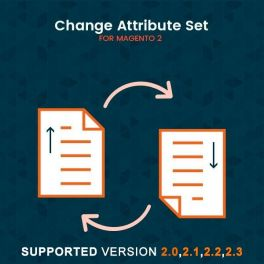 Magento 2 Change attributes set extension