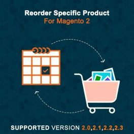 Reorder specific product Magento 2