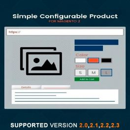 Magento 2 Simple configurable product extension
