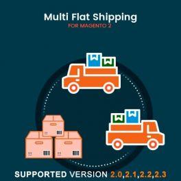 Magento 2 multi flat shipping