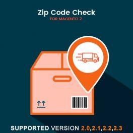 Magento 2 Zipcode Cod extension