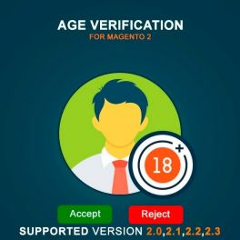 Magento 2 Age Verification extension