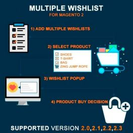 Magento 2 Multiple Wishlist extension