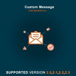 Magento 2 Custom message extension