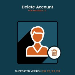 Magento 2 Delete account
