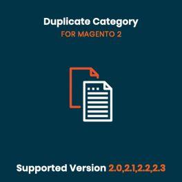 Duplicate Category Magento 2