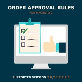 Order approval rules Magento 2