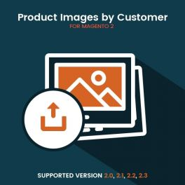 Magento 2 Product image by customer