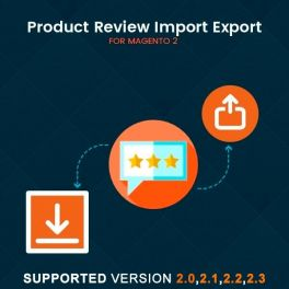 Magento 2 Product review import export extension