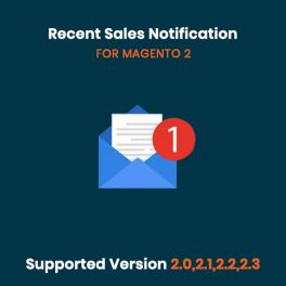 Recent sales notification