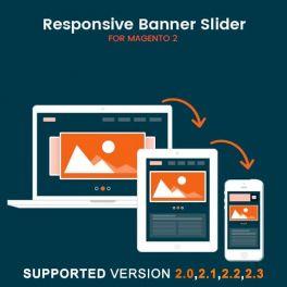 Magento 2 Responsive banner slider extension