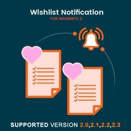 Magento 2 Wishlist notification extension
